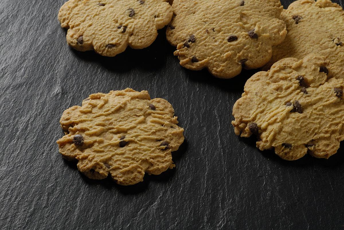 Biscotti Caserecci con gocce di cioccolato